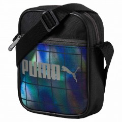 Unisex taška Puma Campus Portable Black-Irr | 074541-01 | Černá | NS