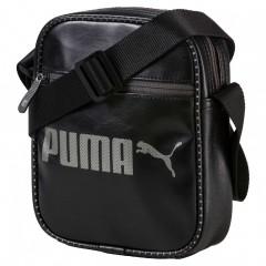 Unisex Taška Puma Campus Portable Black   074536-01   Černá   NS