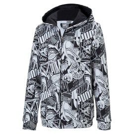 Alpha AOP Hooded Jacket TR B