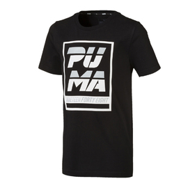 Alpha Graphic Tee B Cotton Black
