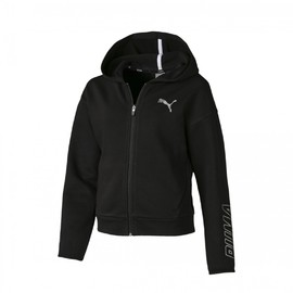 Alpha Hooded Sweat Jacket G Cotton Black