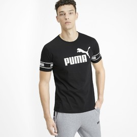 Amplified Big Logo Tee Puma Black