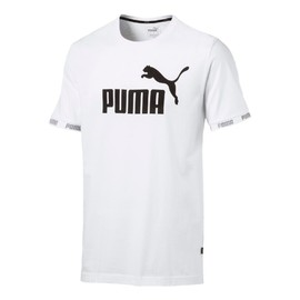 Amplified Big Logo Tee Puma Wh