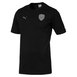 Arsenal FC Fan SLOGAN Tee Puma Black