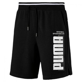 Athletics Shorts 8 TR Cotton Black