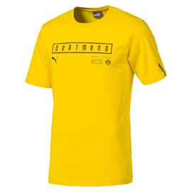 BVB Fan Tee Cyber Yellow