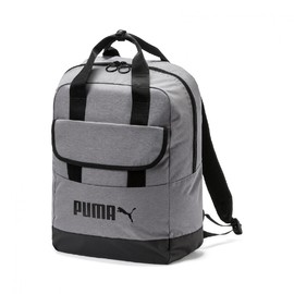Campus Backpack woven Puma Black-Steel G
