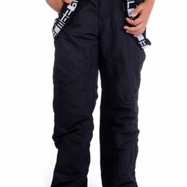 Chlapecké lyžařské kalhoty SAM   BK514--500   Černá   152