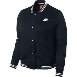 Dámská bunda Nike VARSITY JACKET   586161-010   Černá   L
