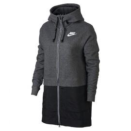 Dámská Bunda Nike W NSW AV15 PRKA   857414-071   Šedá, Černá   L