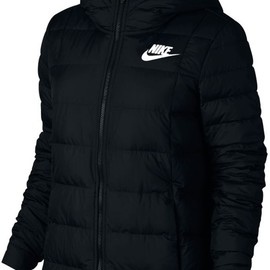 Dámská bunda Nike W NSW DWN FILL JKT HD | 854862-010 | Černá | S