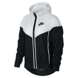 Dámská Bunda Nike W NSW WR JKT | 883495-011 | Černá, Bílá | L