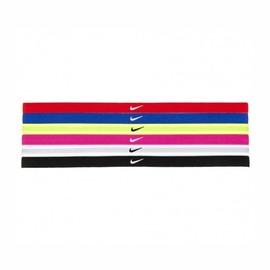 Dámská čelenka Nike SWOOSH SPORT HEADBANDS 6P | NJND6--951 | NS