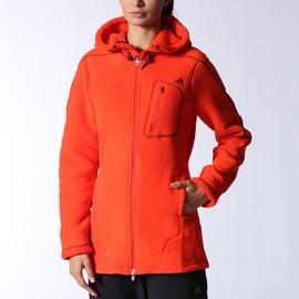 Dámská mikina adidas W ED TEDDY FL J | M61692 | Oranžová | 32