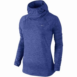 Dámská mikina Nike ELEMENT HOODY | 685818-478 | Modrá | L