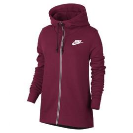 Dámská Mikina Nike W NSW AV15 HOODIE FZ | 857416-620 | Červená | L