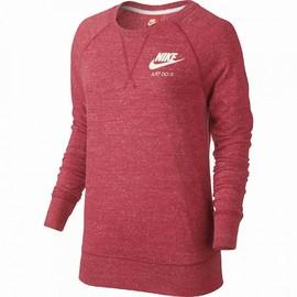 Dámská mikina Nike W NSW GYM VNTG CRW | 726055-850 | Červená | L