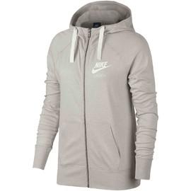 Dámská mikina Nike W NSW GYM VNTG HOODIE FZ | 883729-140 | Šedá | L