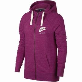 Dámská mikina Nike W NSW GYM VNTG HOODIE FZ | 883729-607 | Fialová | L