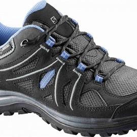 Dámská treková obuv Salomon ELLIPSE 2 GTXR W ASPHALT/BK/PE | 381629 | Černá | 38