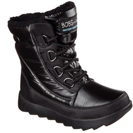 Dámská zimní obuv Skechers MEMENTOS - SNOW CAP | 34355--BBK | Černá | 37