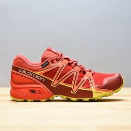 Dámské Běžecké boty Salomon SPEEDCROSS VARIO 2 GTXR W Barb | 398474 | Červená | 38