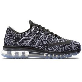 Dámské boty Nike WMNS AIR MAX 2016 PRINT | 818101-100 | Černá, Bílá | 38,5