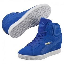 Dámské boty Puma Vikky Wedge dazzling blue | 357246-07 | 38