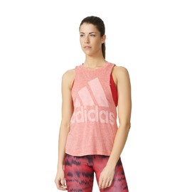 Dámské tílko adidas LOGO SLEEVELESS | AZ3065 | Růžová | M