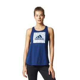 Dámské tílko adidas Performance ID BOS BOX | BK4295 | Modrá | L