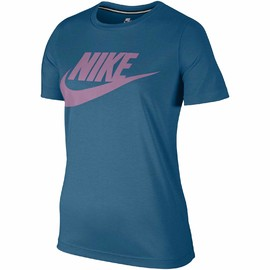 Dámské Trička Nike W NSW ESSNTL TEE HBR | 829747-457 | Modrá | L