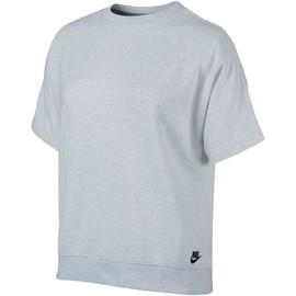Dámské Trička Nike W NSW TOP SS FT | 832594-051 | Šedá | L