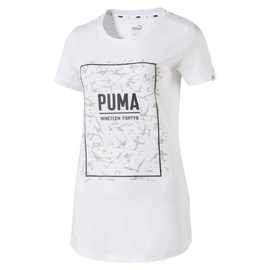 FUSION Graphic Tee Puma White
