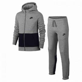 Dětská souprava Nike B NSW TRK SUIT BF | 832556-063 | Šedá, Černá | S