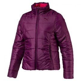 ESS Padded Jacket g Dark Purpl