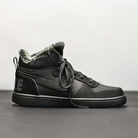 Dětská Zimní obuv Nike COURT BOROUGH MID WNTR GS   AA3458-001   Černá   38