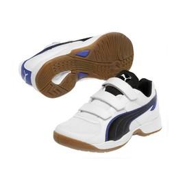 Dětské Sálové boty Puma Vellum III V Jr white-black-pu | 102662-01 | Bílá | 37