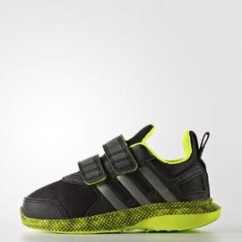 Dětské tenisky adidas hyperfast 2.0 cf i | AQ3852 | Žlutá, Černá | 23