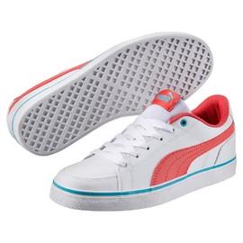 Dětské tenisky Puma Court Point Vulc v2 Jr Wh | 362947-09 | Bílá | 38