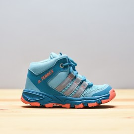 Dětské trekové boty adidas Performance AX2 MID I   CM7277   Modrá   23