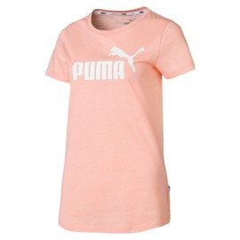 ESS Logo Heather Tee Peach Bud Heather