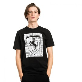 Ferrari Big Shield Tee Puma Bl