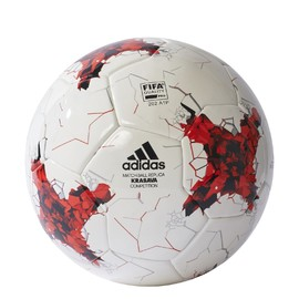 Fotbalový míč adidas CONFEDCOMP | AZ3187 | Červená, Bílá | 4