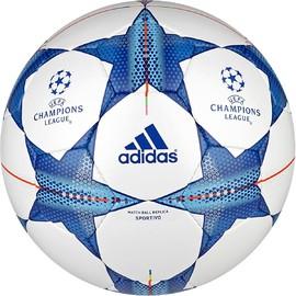 Fotbalový míč adidas FIN15SPORT | S90232 | Modrá, Bílá | 5