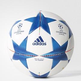 Fotbalový míč adidas FIN15TTRAIN | S90233 | Modrá, Bílá | 4