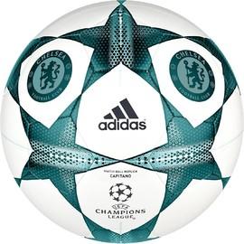 Fotbalový míč adidas FINALE15CFC CAP | S90218 | Zelená, Bílá | 5
