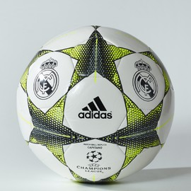 Fotbalový míč adidas FINALE15RM CAP | S90220 | Zelená, Bílá | 5