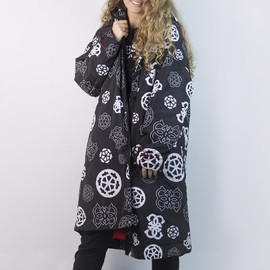 Long wind jacket guess
