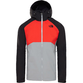 M STRATOS JACKET MID GRY/FIERY