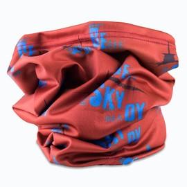 Milujemehory BESKYDY šátek | BESSA4-B16 | Červená | NS